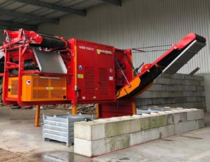 Hammel NZS 700 D Secondary Shredder SN 117 Image